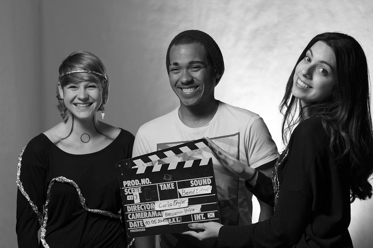 Interact Film Festival Berlin – Actors during a take