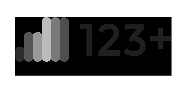 123+ Logo